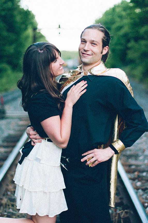 Super Hero Engagement