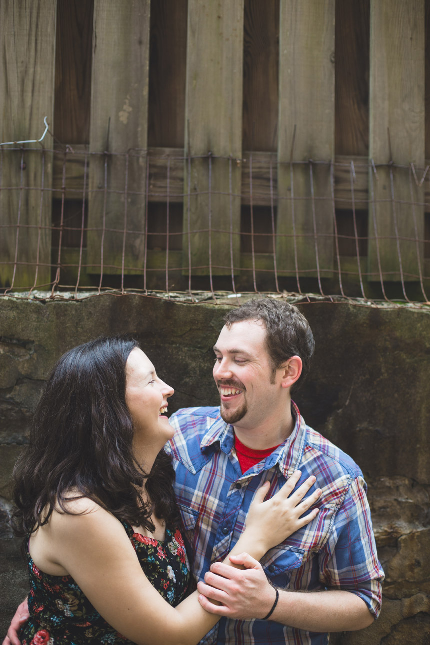 kelly & greg jim thorpe engagement photos 21