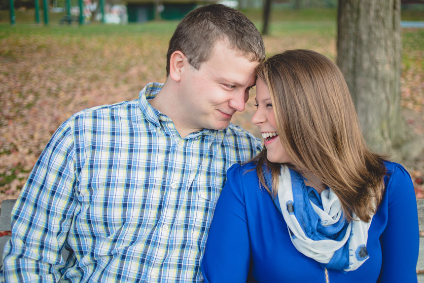 Christine & Damian Kirby Park Engagement Photos 01