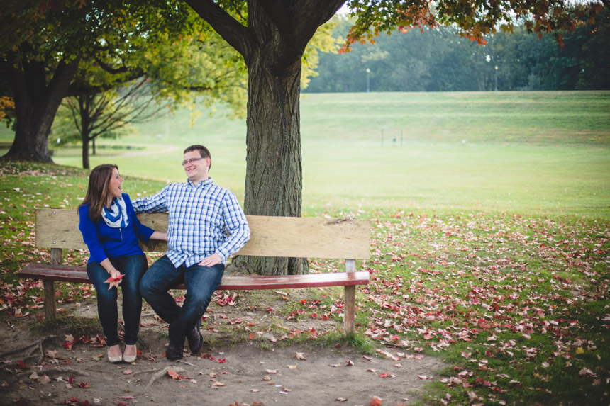 Christine & Damian Kirby Park Engagement Photos 02