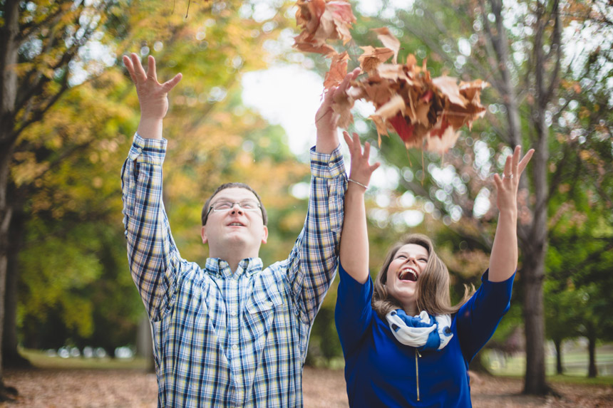 Christine & Damian Kirby Park Engagement Photos 06