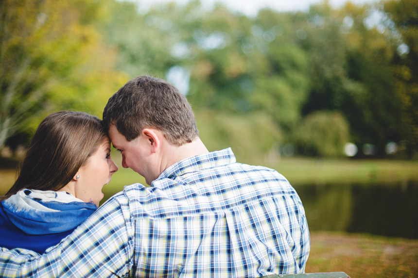 Christine & Damian Kirby Park Engagement Photos 08