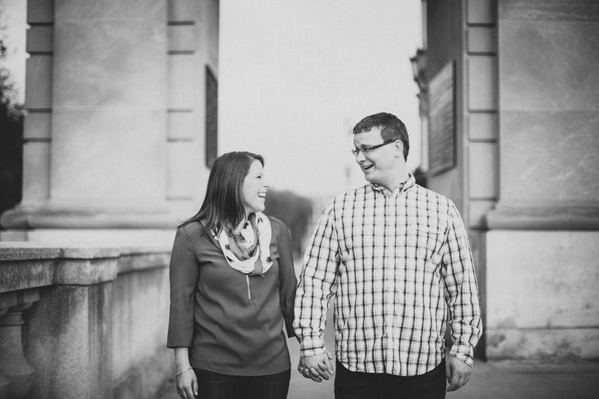 Christine & Damian Kirby Park Engagement Photos 11