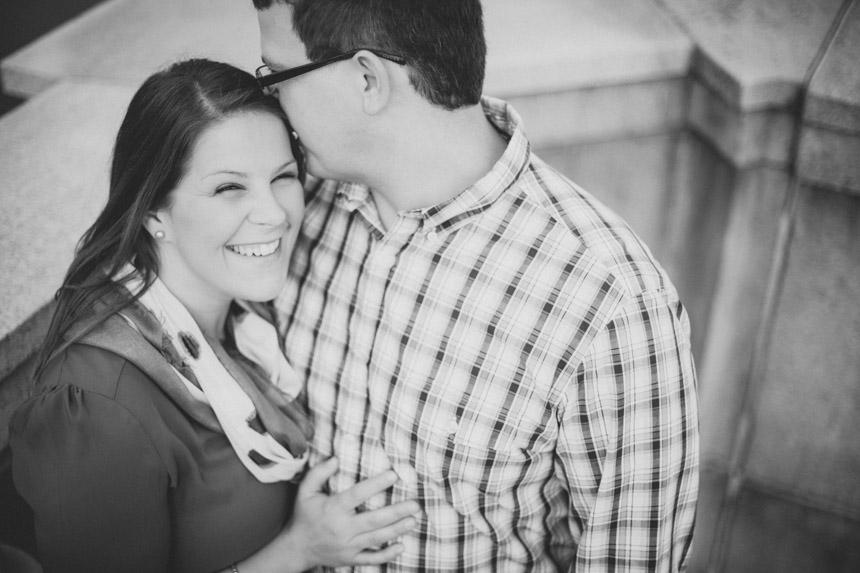 Christine & Damian Kirby Park Engagement Photos 12