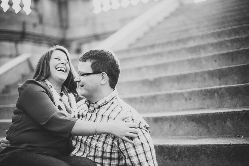 Christine & Damian Kirby Park Engagement Photos 13