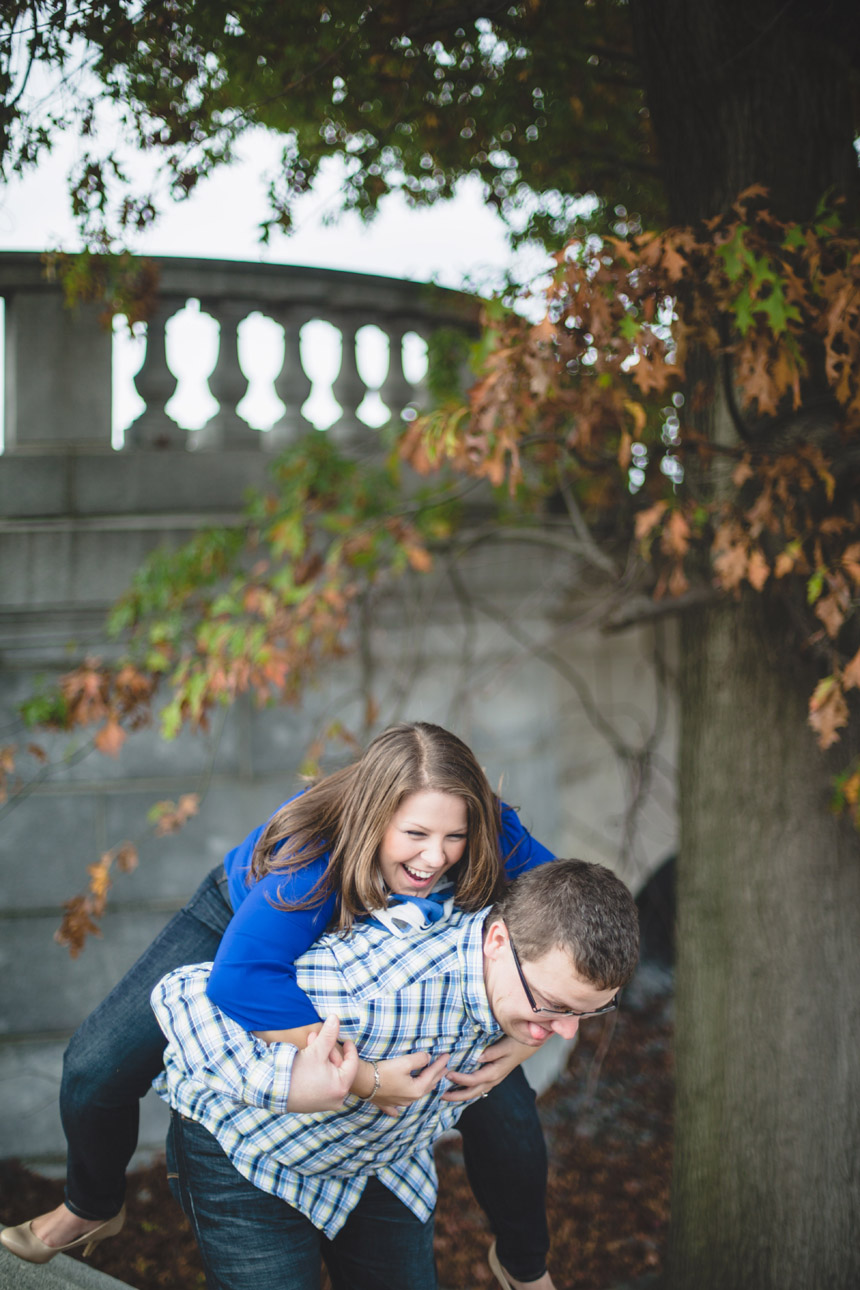 Christine & Damian Kirby Park Engagement Photos 26