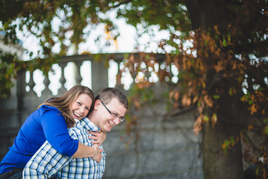 Christine & Damian Kirby Park Engagement Photos 28