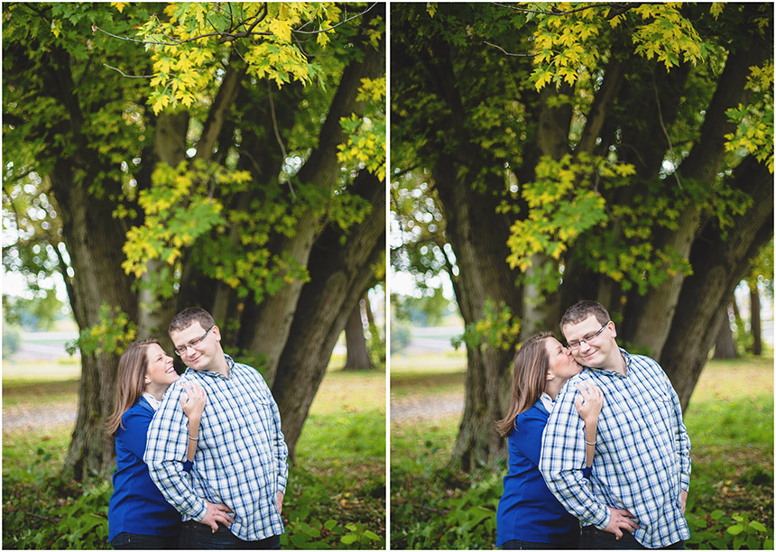 Christine & Damian Kirby Park Engagement Photos 32