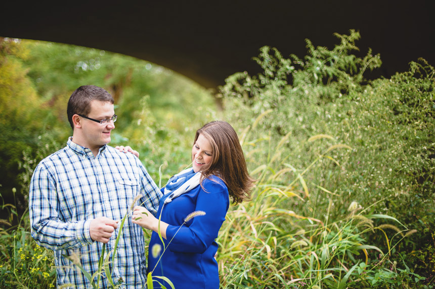 Christine & Damian Kirby Park Engagement Photos 34