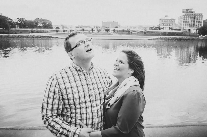 Christine & Damian Kirby Park Engagement Photos 40