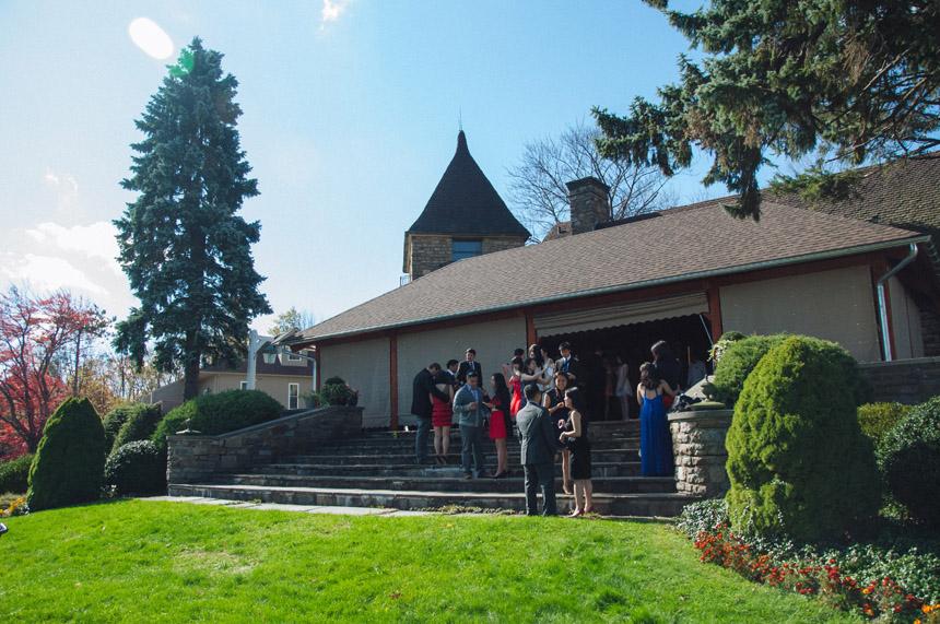 Samantha & David's French Manor Reception 32