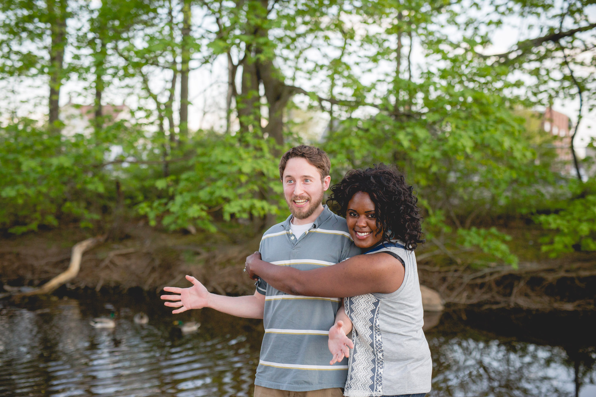 Quakertown Memorial Park Engagement Photos 02