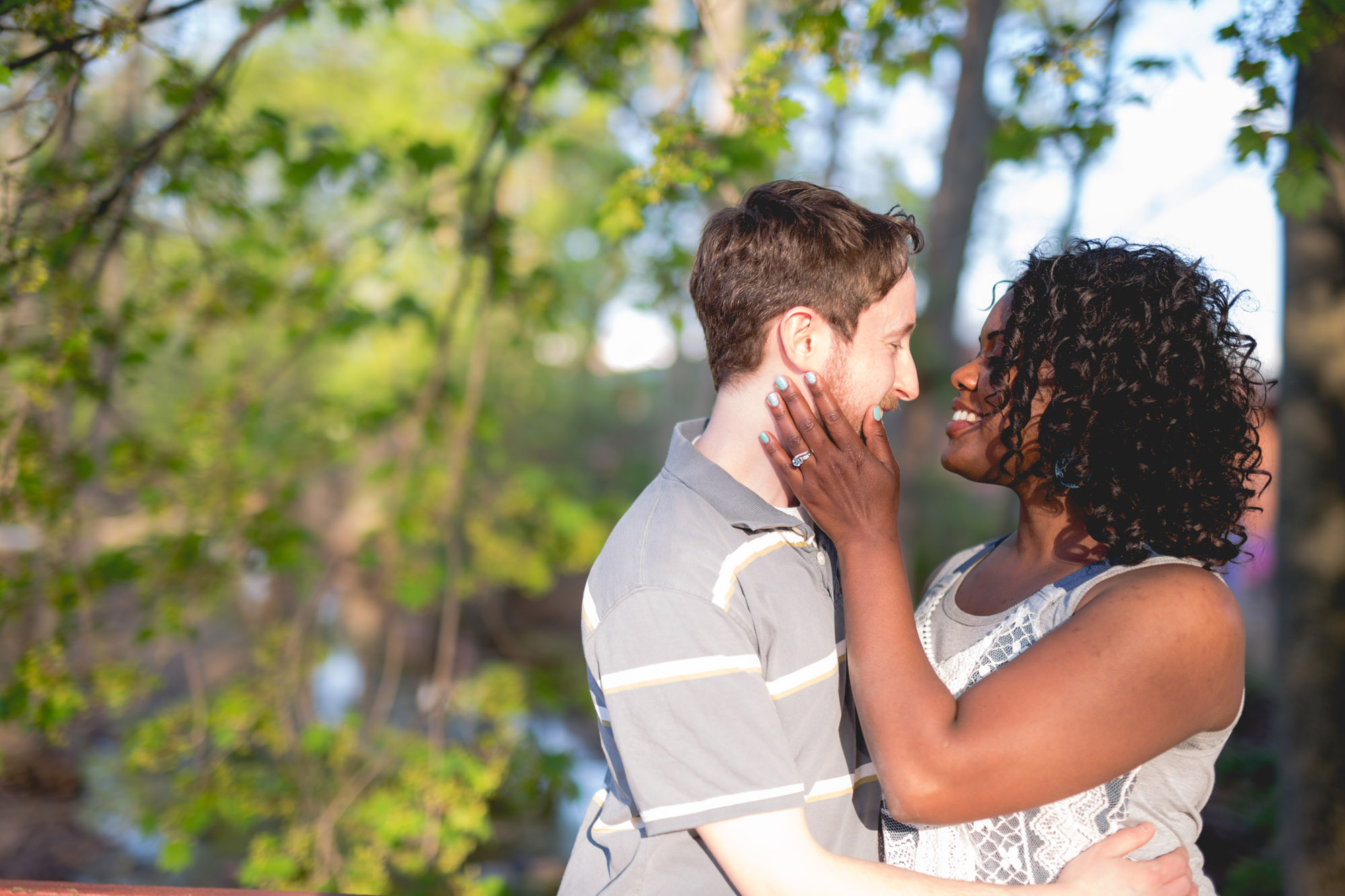 Quakertown Memorial Park Engagement Photos 08