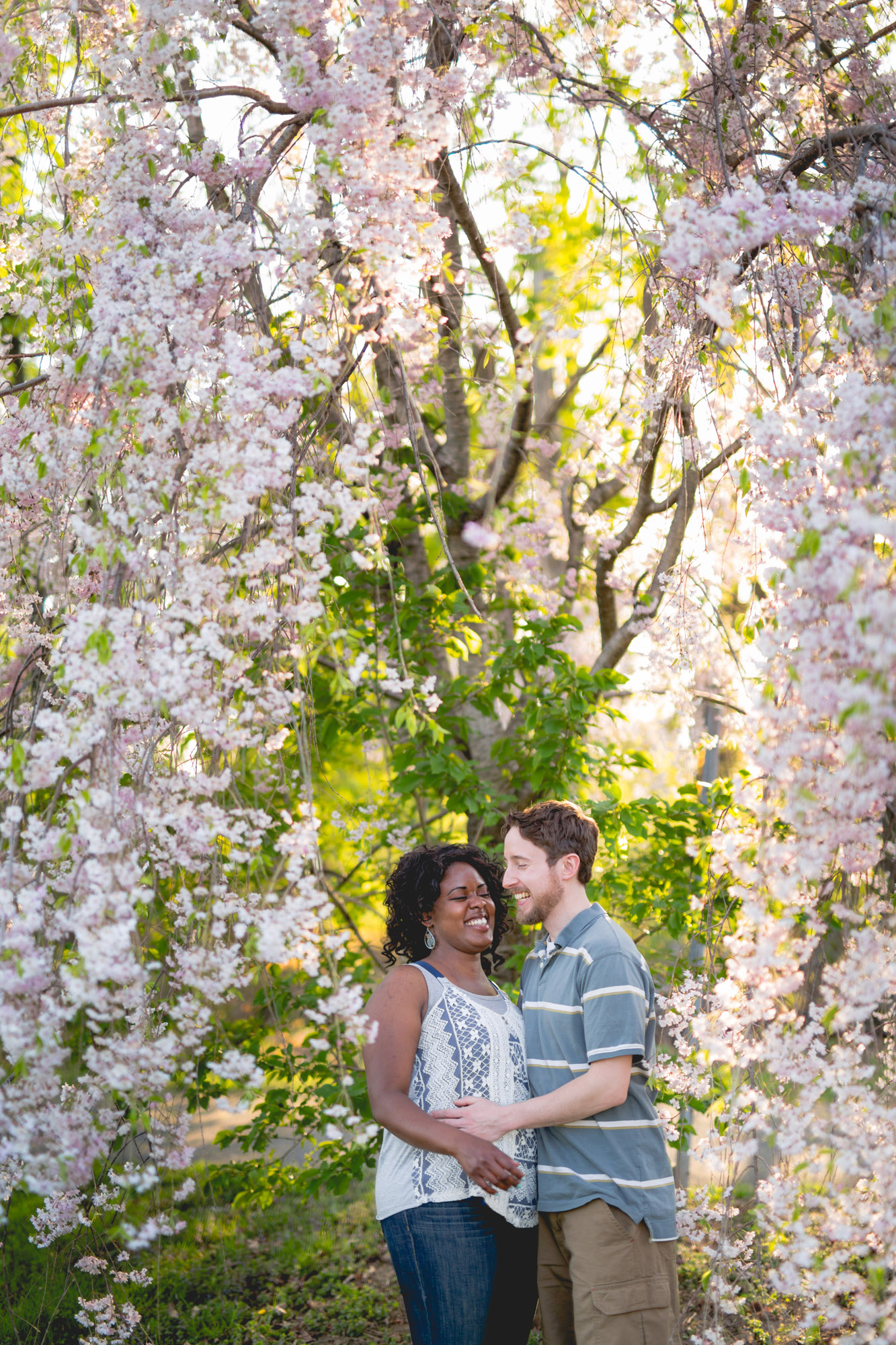 Quakertown Memorial Park Engagement Photos 10