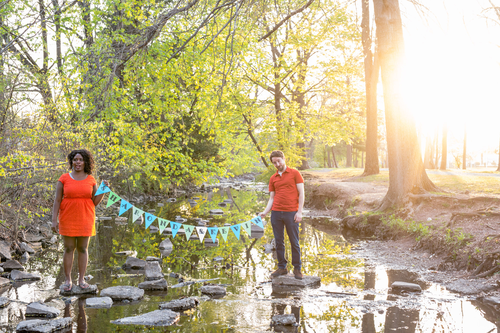 Quakertown Memorial Park Engagement Photos 18