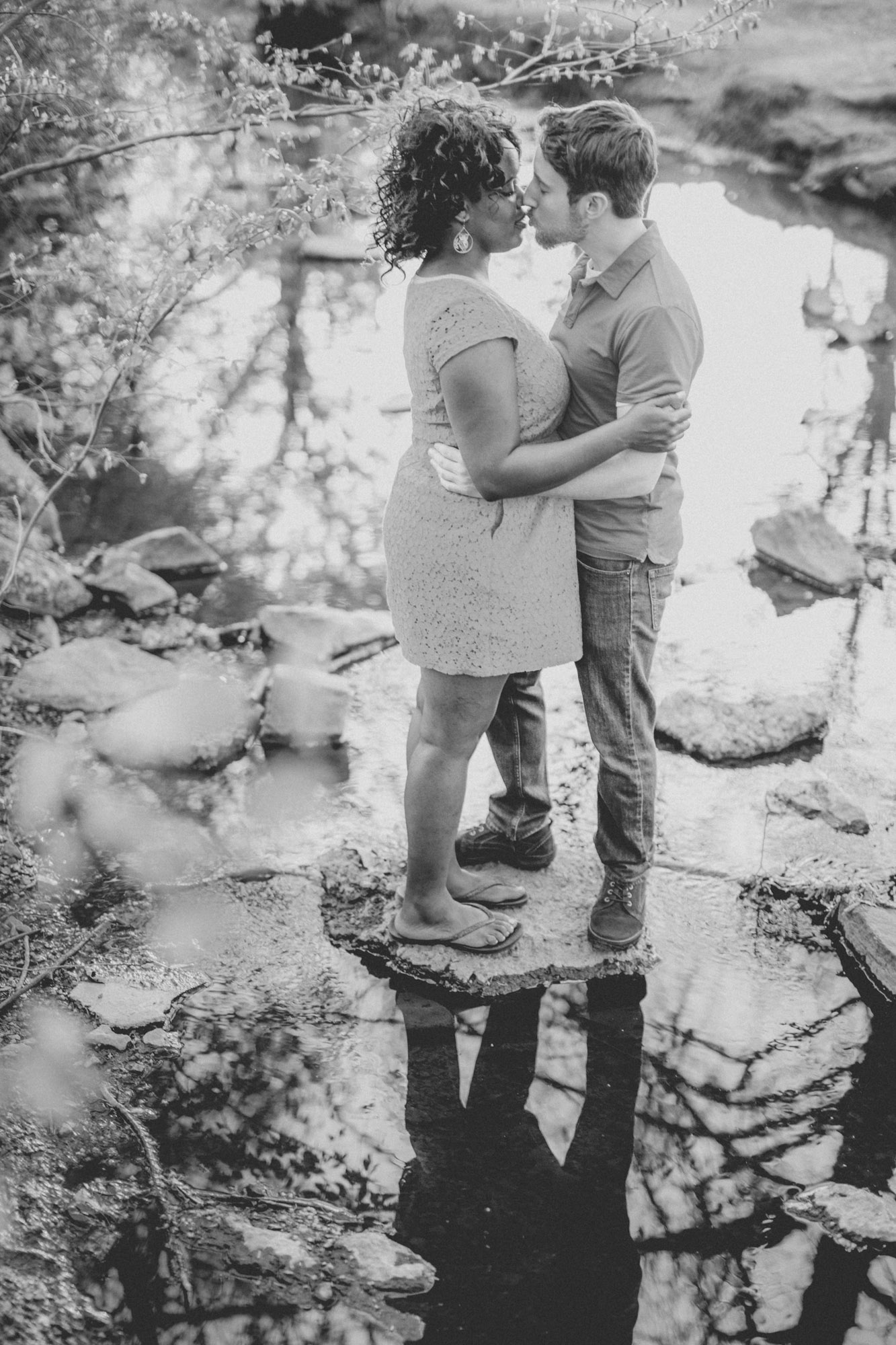 Quakertown Memorial Park Engagement Photos 20