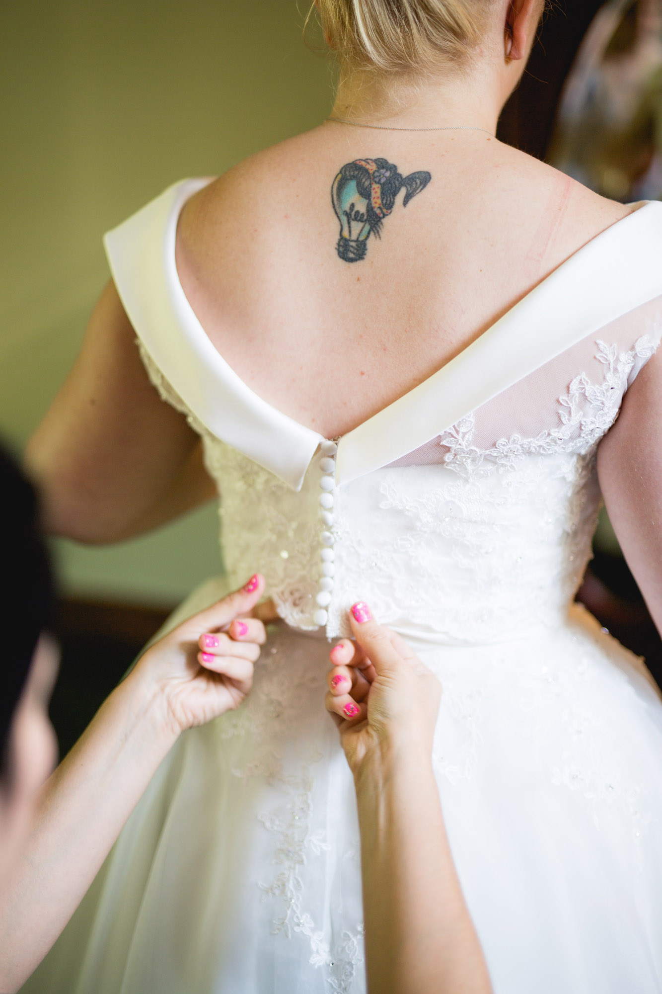 Caitlin & Joe's Stroudsmoor Woodsgate Wedding 03