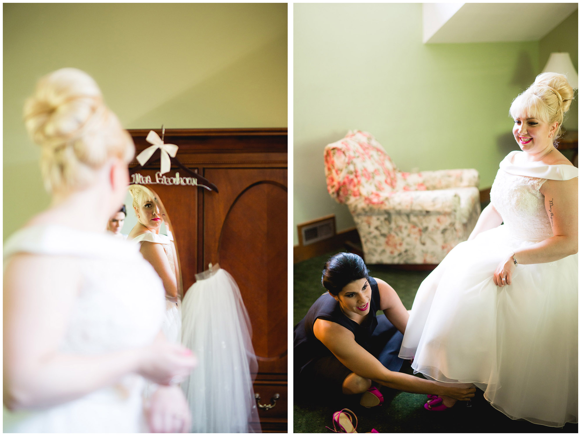 Caitlin & Joe's Stroudsmoor Woodsgate Wedding 04