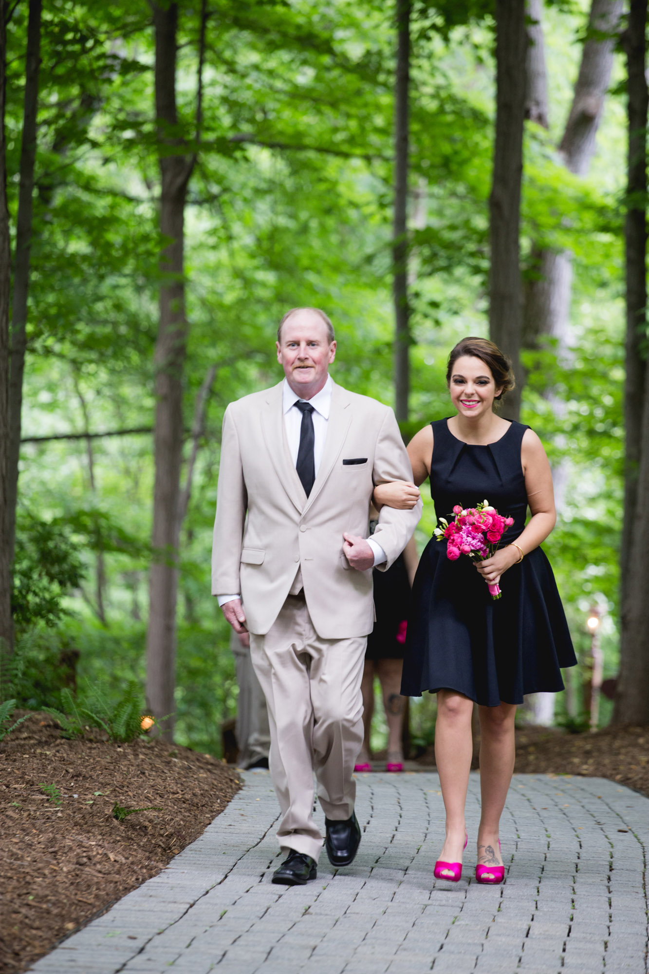 Caitlin & Joe's Stroudsmoor Woodsgate Wedding 36