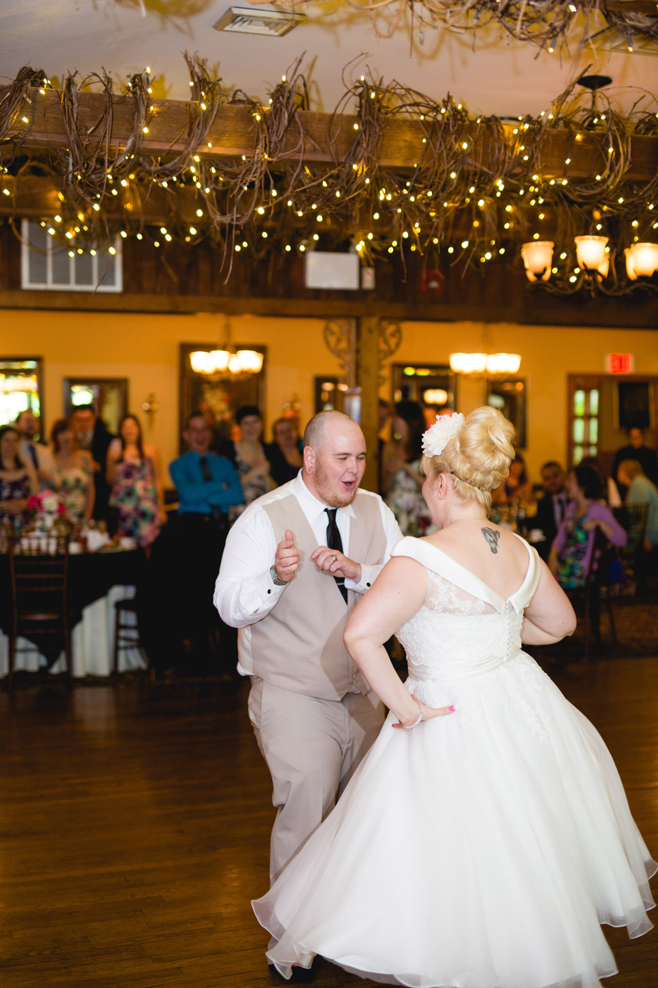 Caitlin & Joe's Stroudsmoor Woodsgate Wedding 80