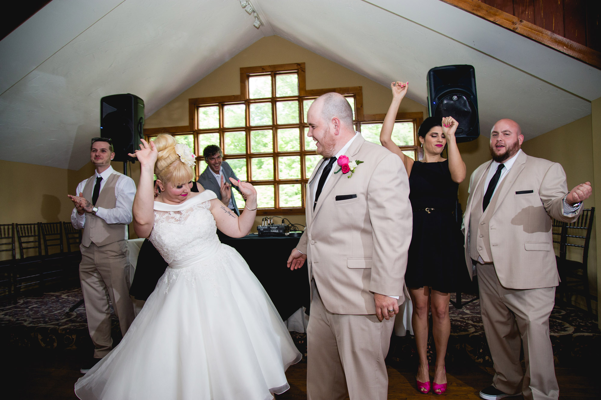 Caitlin & Joe's Stroudsmoor Woodsgate Wedding 83