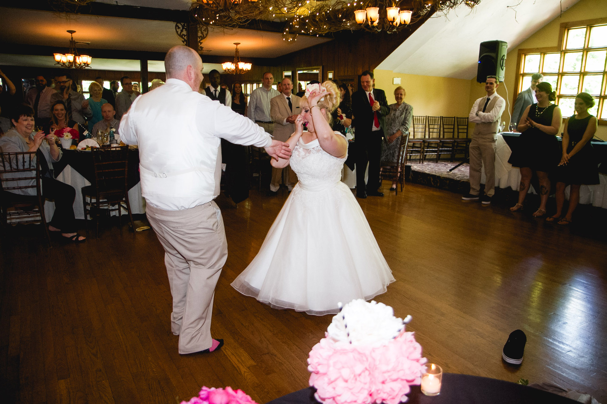 Caitlin & Joe's Stroudsmoor Woodsgate Wedding 84