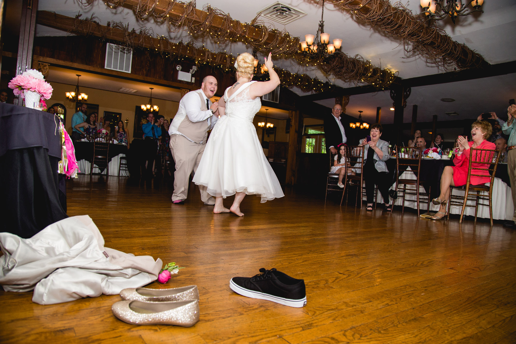 Caitlin & Joe's Stroudsmoor Woodsgate Wedding 85