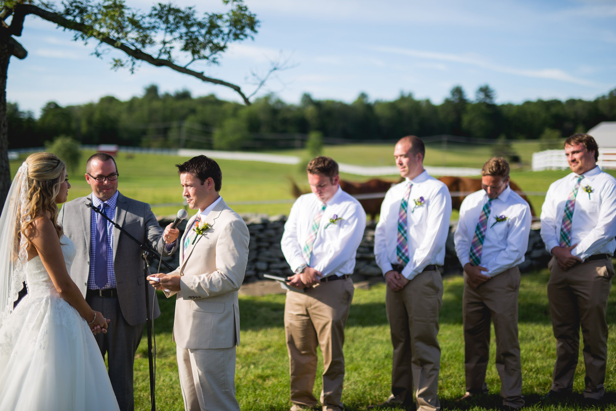 Emily & Craig Friedman Farms Wedding 063