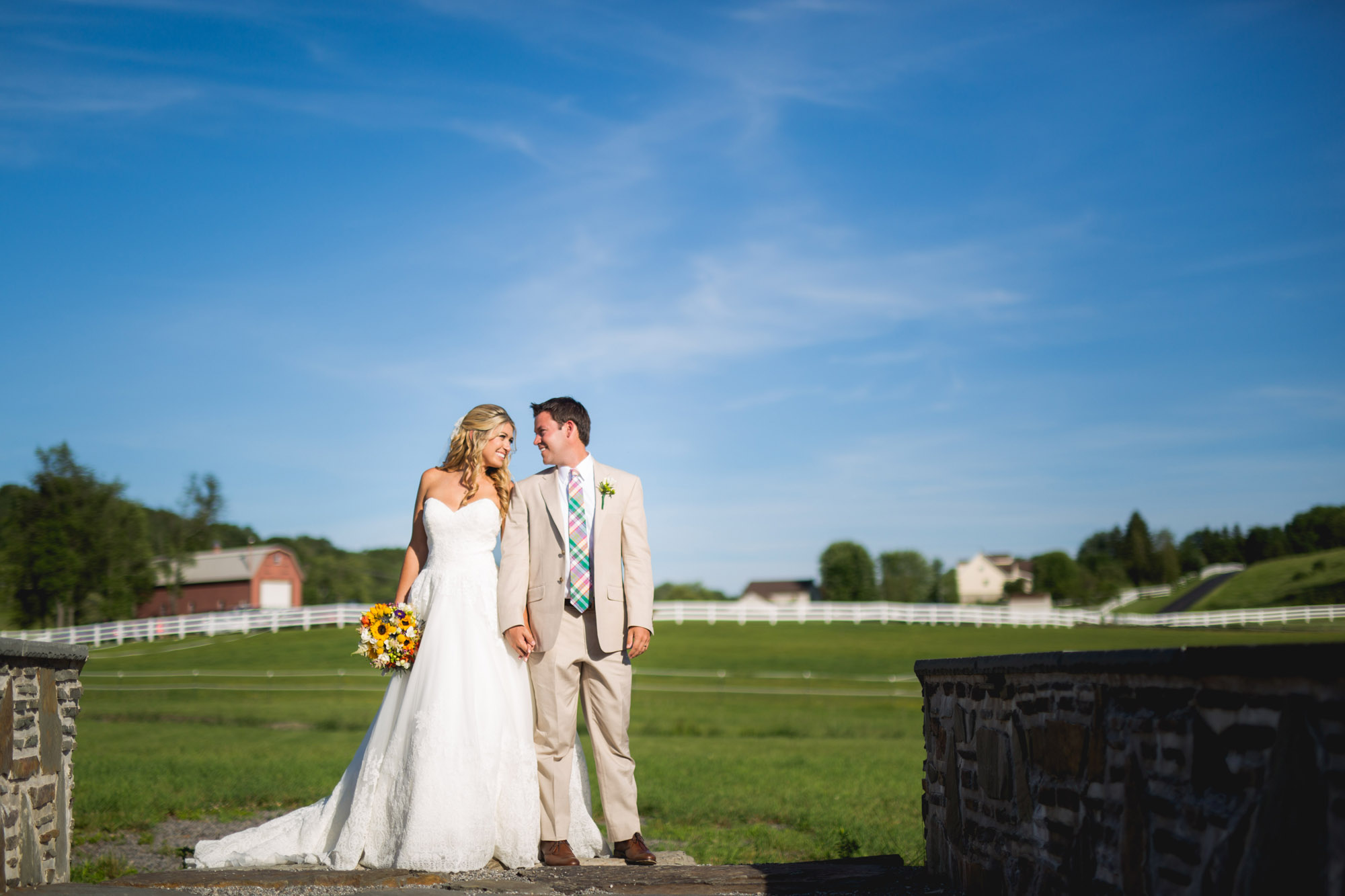 Emily & Craig Friedman Farms Wedding 082