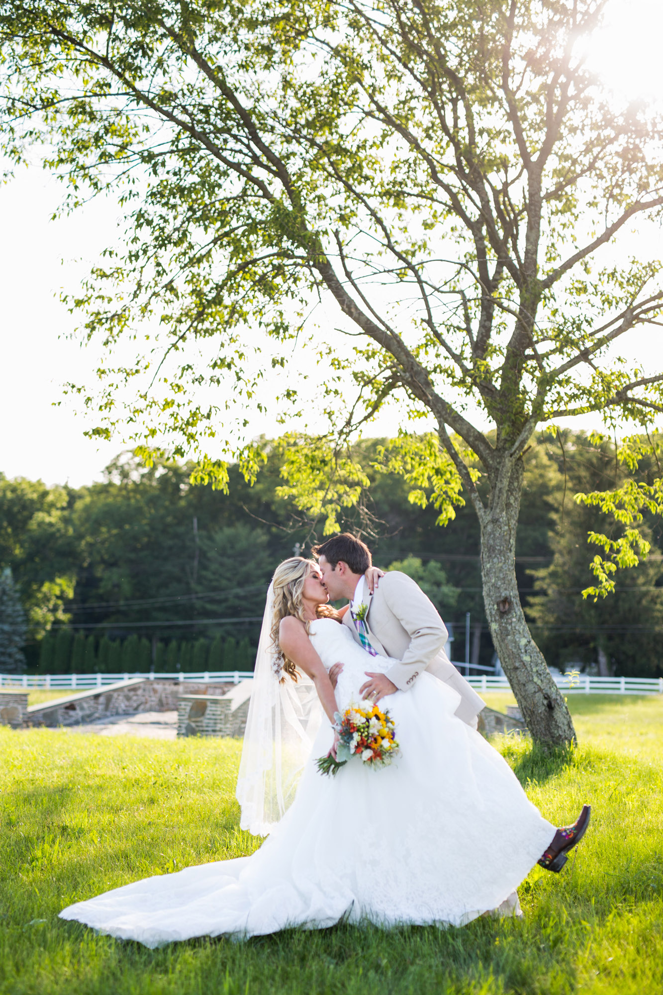 Emily & Craig Friedman Farms Wedding 087
