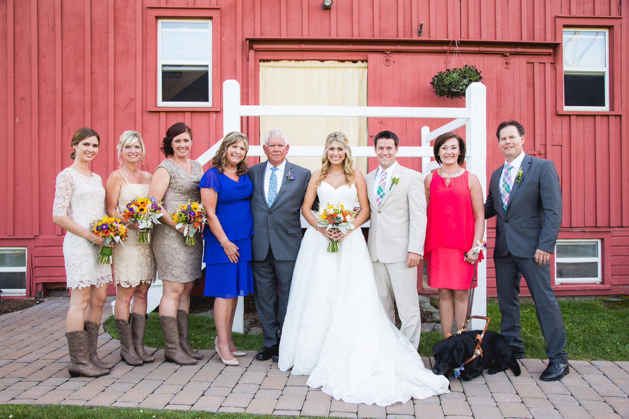 Emily & Craig Friedman Farms Wedding 090