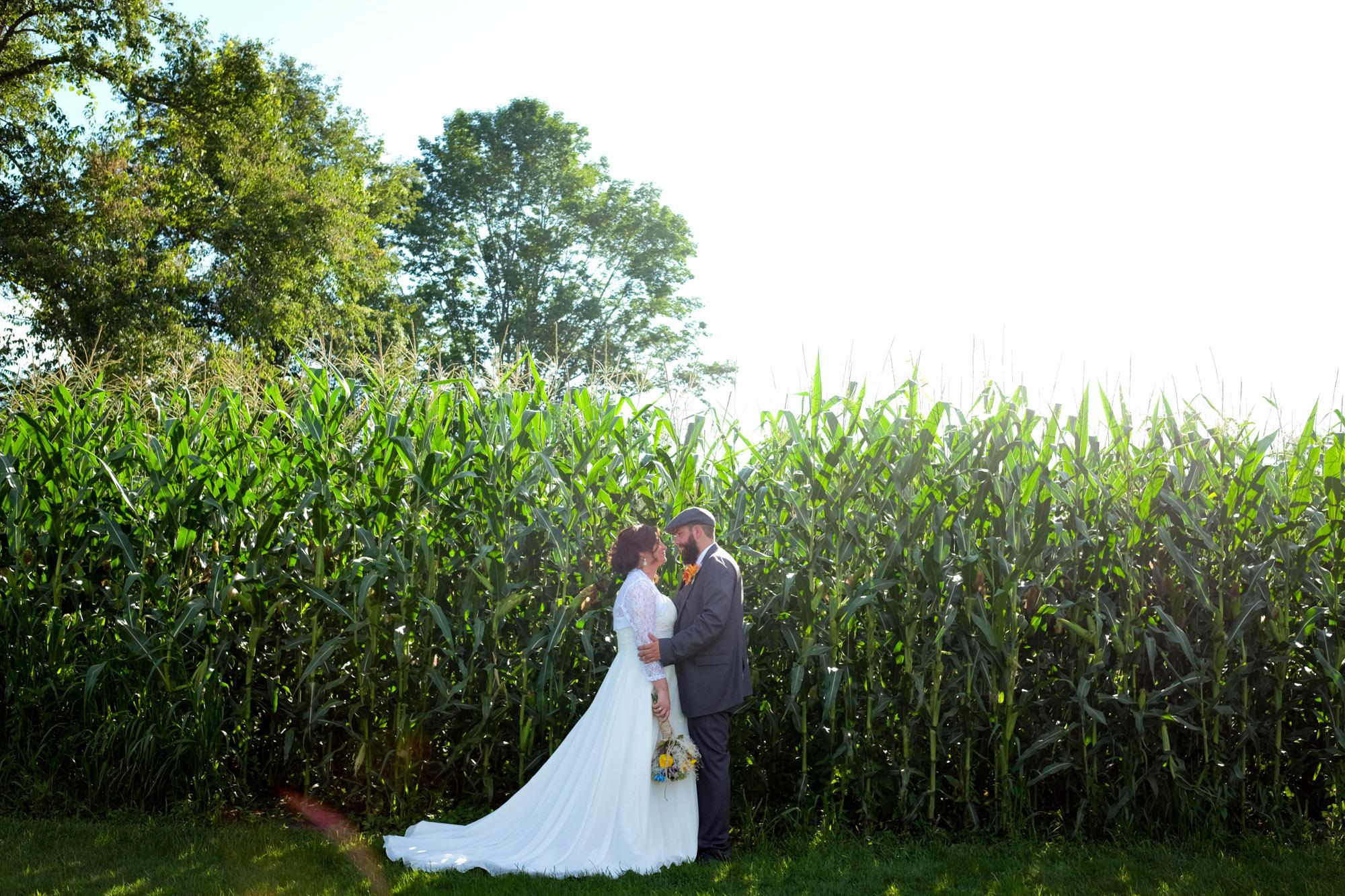 Shawn & Danielle Hot Air Balloon Wedding 11