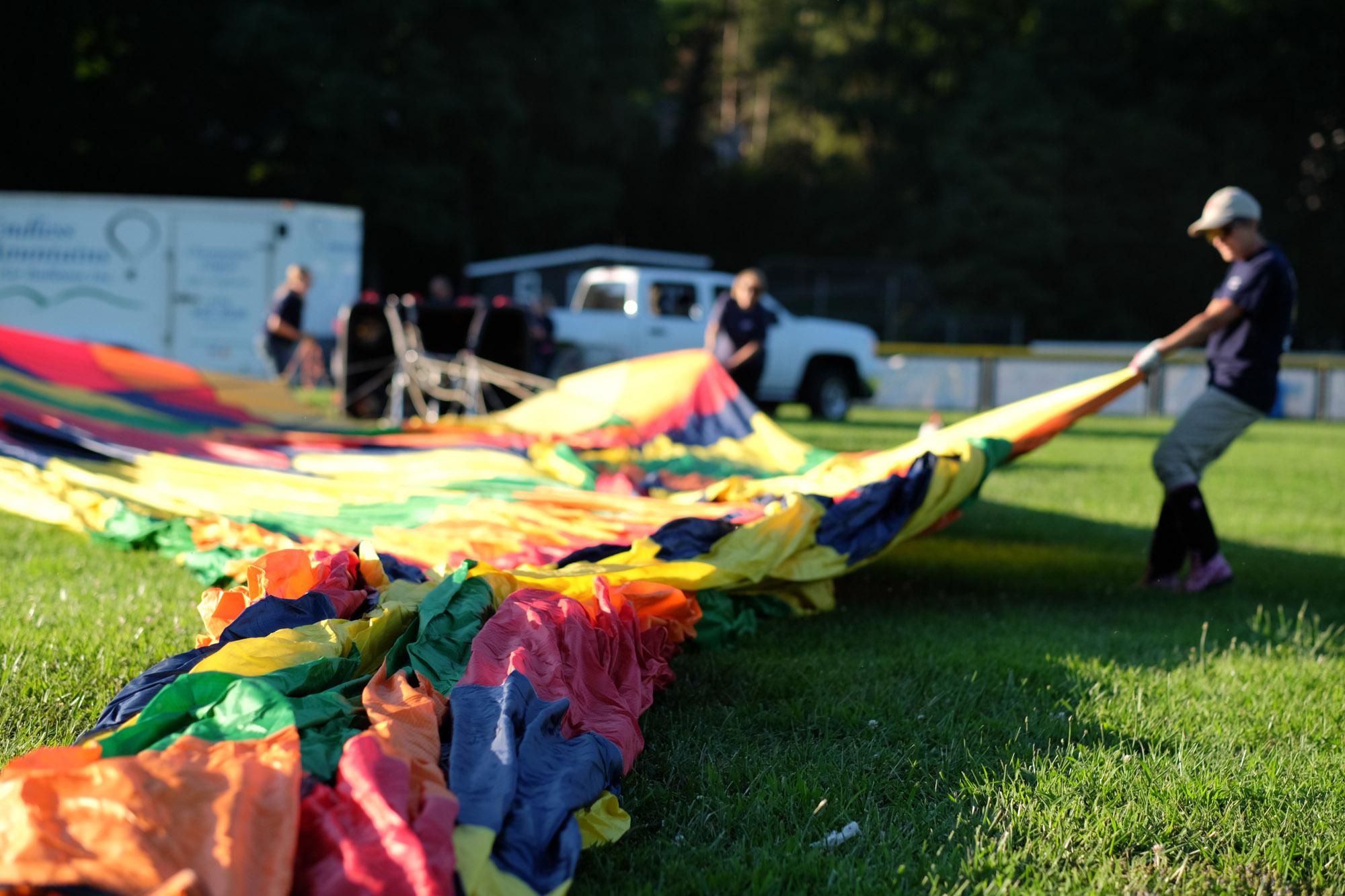 Shawn & Danielle Hot Air Balloon Wedding 23