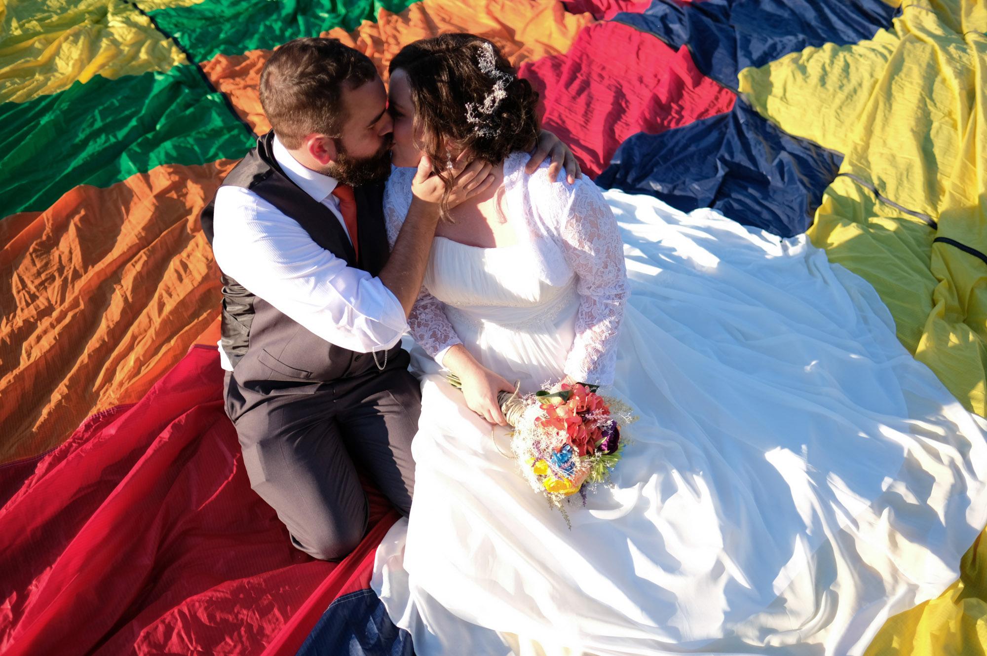 Shawn & Danielle Hot Air Balloon Wedding 25