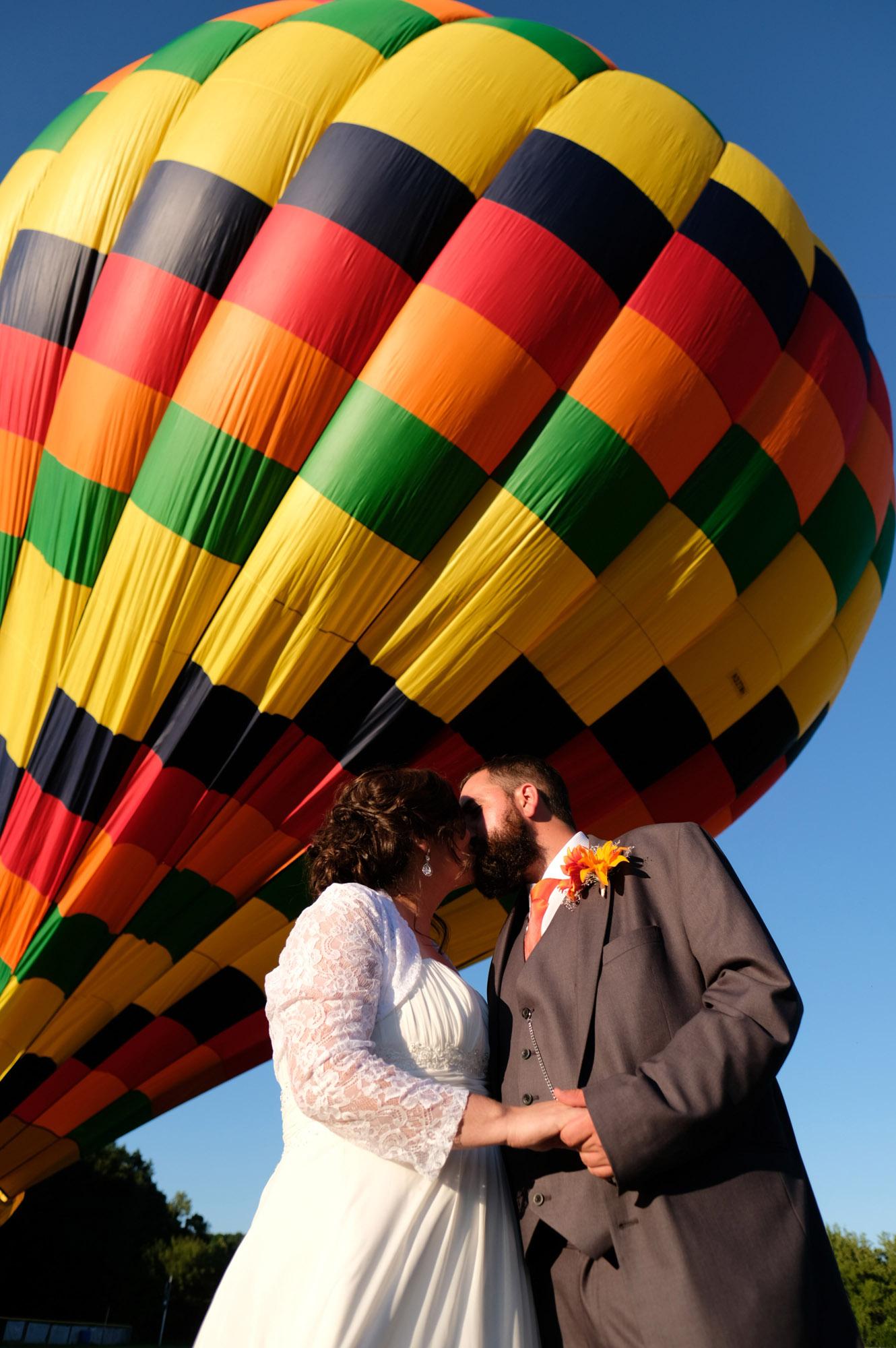 Shawn & Danielle Hot Air Balloon Wedding 29