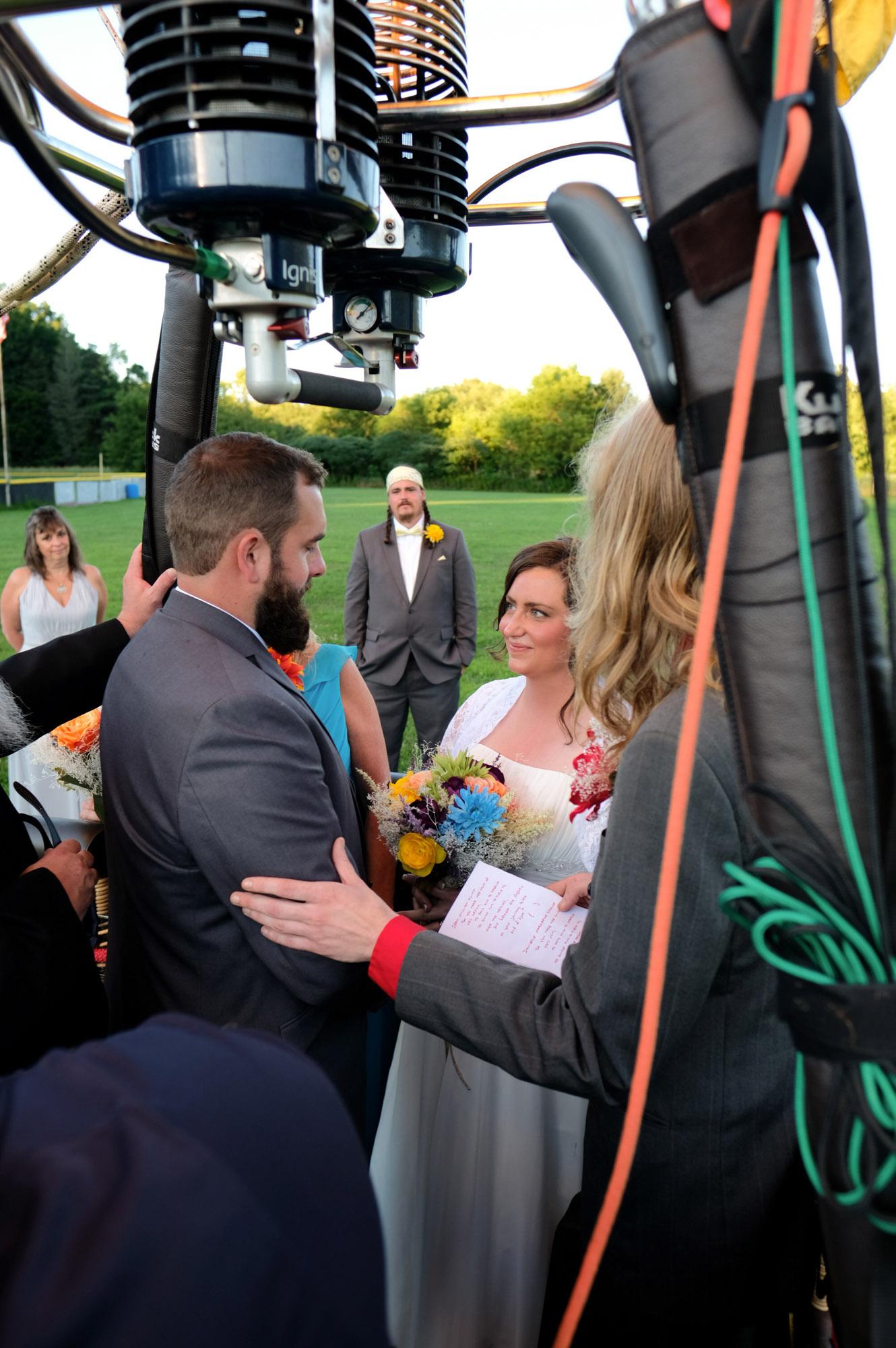 Shawn & Danielle Hot Air Balloon Wedding 32