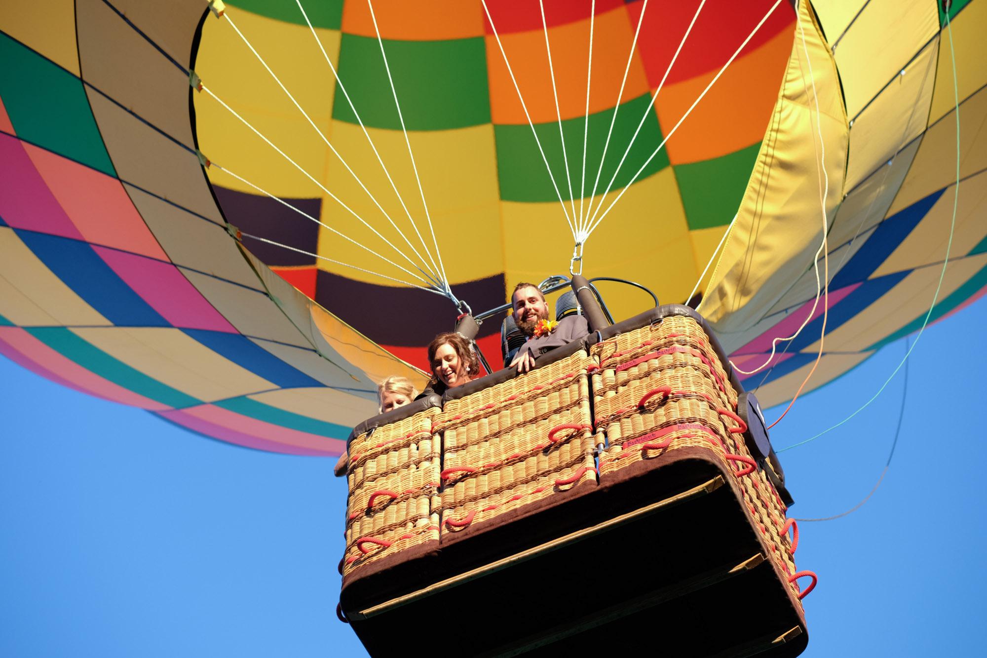 Shawn & Danielle Hot Air Balloon Wedding 36